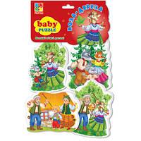 Беби пазлы «Коза-дереза»,  VT1106-38, Vladi Toys