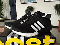 Кроссовки женские Adidas Ultra Boost 2 Black White беговые