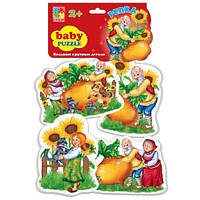 Беби пазлы «Репка»,  VT1106-34, Vladi Toys