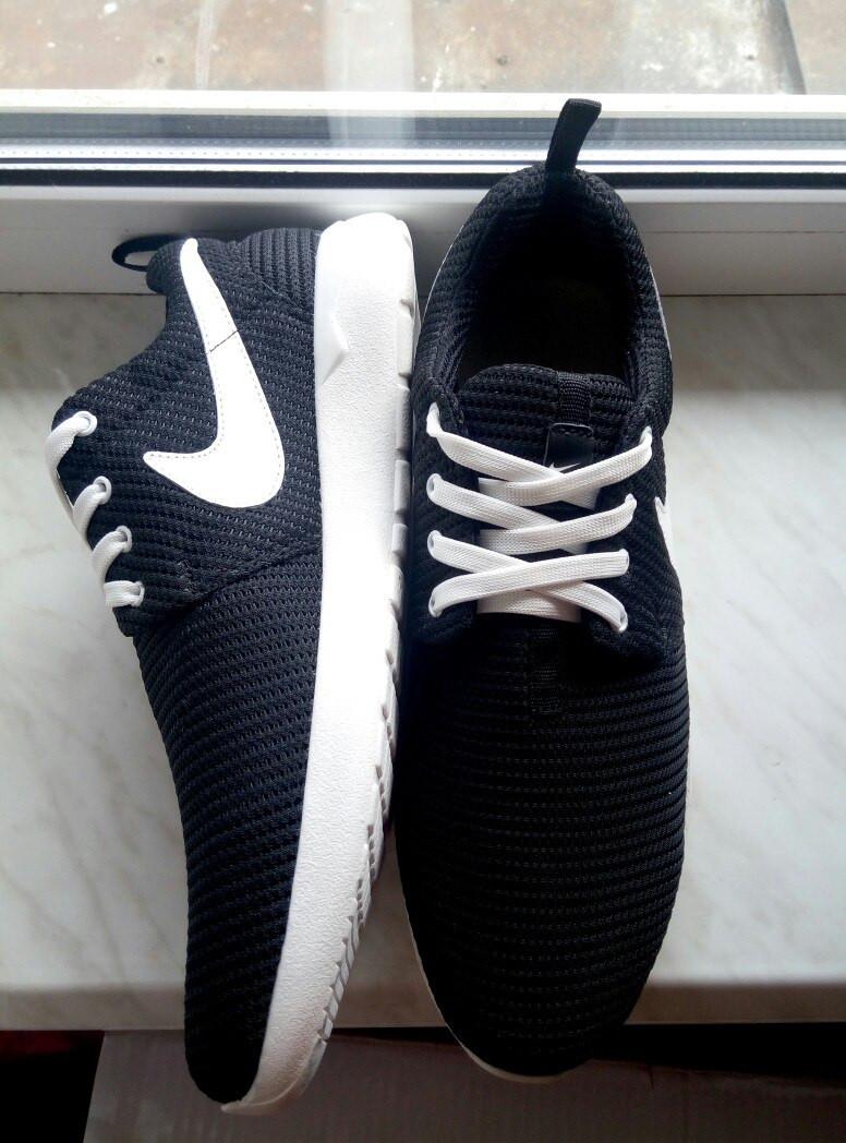 Кроссовки Nike Roshe Run, ТОЛЬКО 43 размер (28,5 см) (реплика)