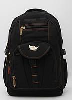 Чоловічий мужской брезентовый городской рюкзак Gold Be / GoldBe
