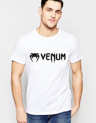 "Мужская футболка"" Venum"" белая, фото 2"
