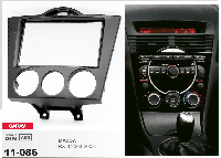 2-DIN переходная рамка MAZDA RX-8 2003-2008 ( Manual Air-Conditioning), CARAV 11-086