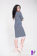 Платье Морячка батал , фото 2