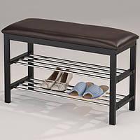 """Полка-скамейка для обуви """"SR-0628-W"""", фото 1"""