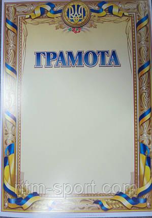 Бланк грамоты наградной с гербом Украины , фото 2