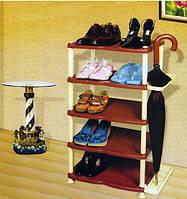 Полка обувная пластиковая «Efe» (5 ярусов), фото 1