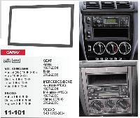 2-DIN переходная рамка VOLKSWAGEN Passat (B5); Bora; Golf IV; Lupo, Polo,CARAV 11-101