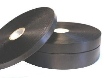 Лента сатиновая черная Premium 20мм х 183м(вт76)