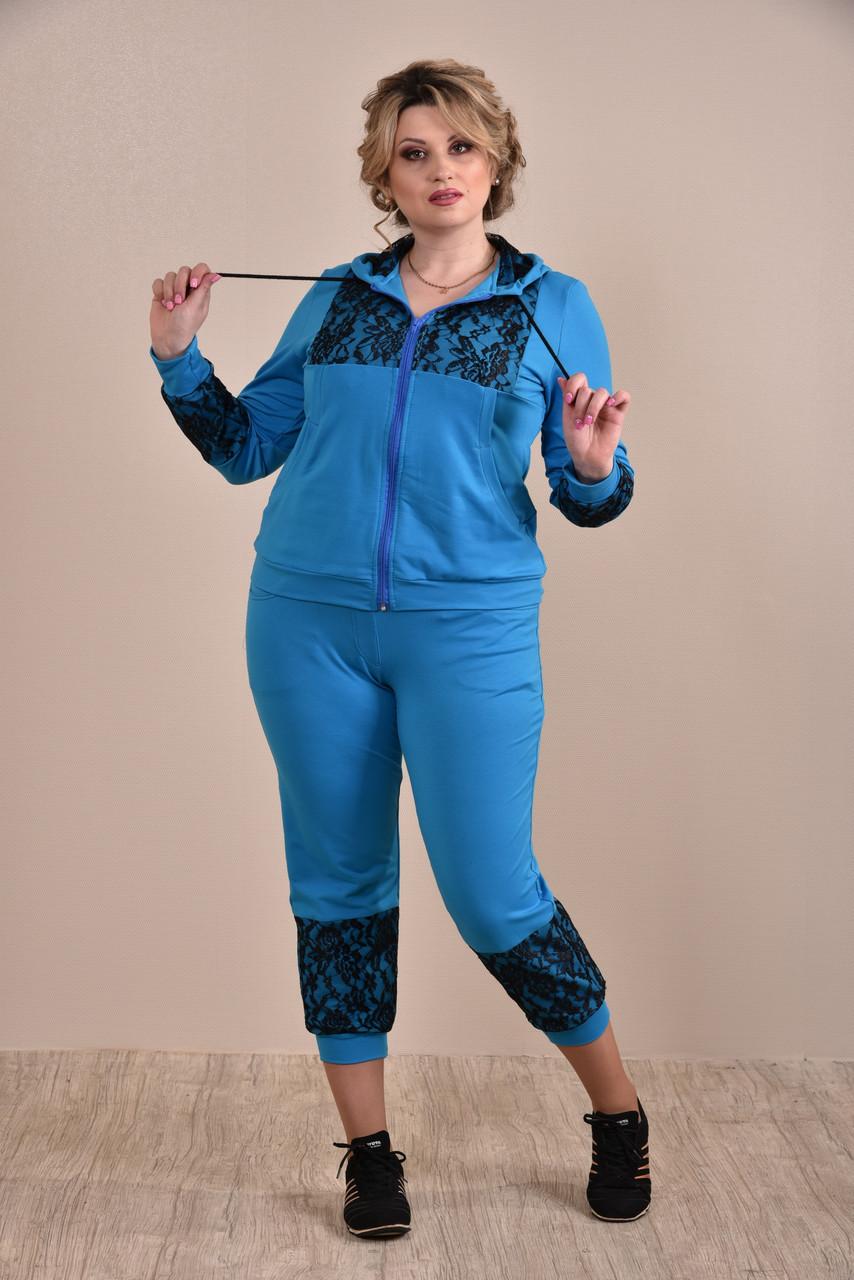 Спортивный костюм женский больших размеров