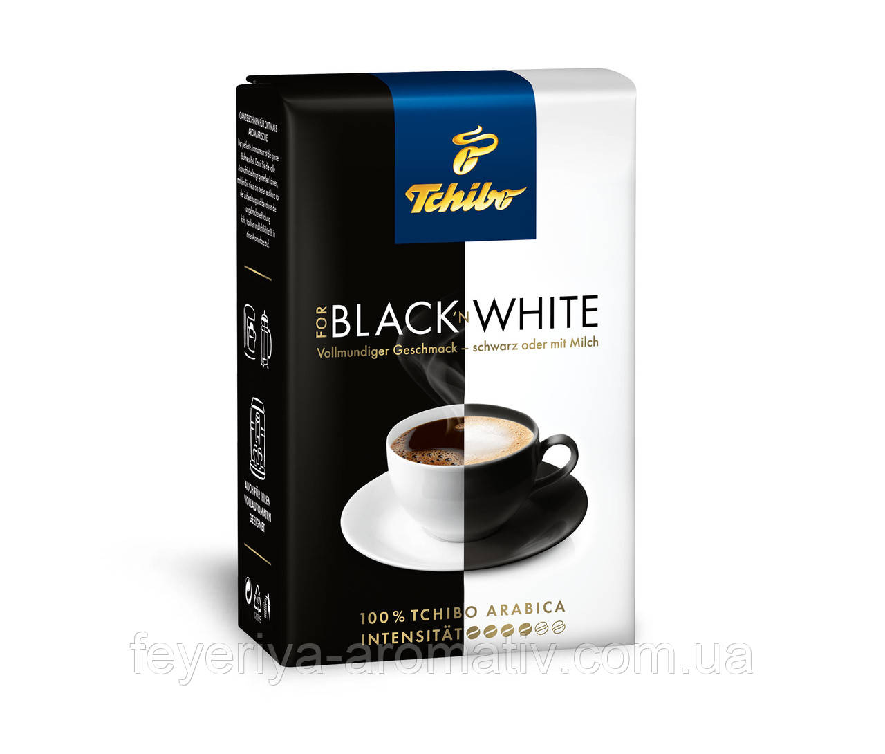 Кофе молотый Tchibo Black & White 250гр. (Германия)