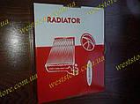 Радиатор отопителя печки Ваз 2104 2105 2107 AURORA (алюм.)HR-LA2106, фото 2