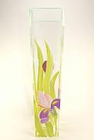 Стеклянная ваза для цветов Ирыс (Конус большой - 39 х 7,5 х 10 см.)