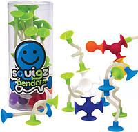 Конструктор Fat Brain Toys з присоск Squigz Benders (18 шт), фото 1