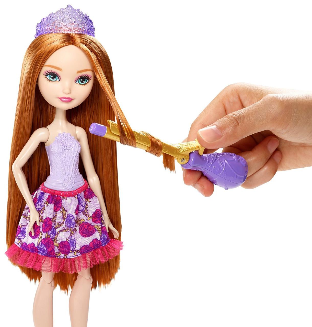 Ever After High Холли о Хара Стиль с аксессуарами для смены прически Holly O'Hair Style Doll