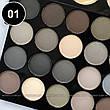 Parisa - Набор теней 2-ярусный PK-40 Professional Eyeshadow Kit Тон 01  матовые, фото 2