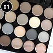 Parisa - Набор теней 2-ярусный PK-40 Professional Eyeshadow Kit Тон 01  матовые, фото 3