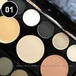 Parisa - Набор теней 2-ярусный PK-40 Professional Eyeshadow Kit Тон 01  матовые, фото 4
