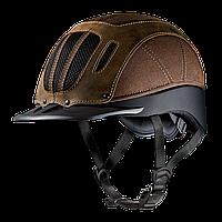 """Шлем, каска """"SIERRA"""", США, для конного спорта, для мужчин, с натуральной кожей, цвет черный, коричневый"""