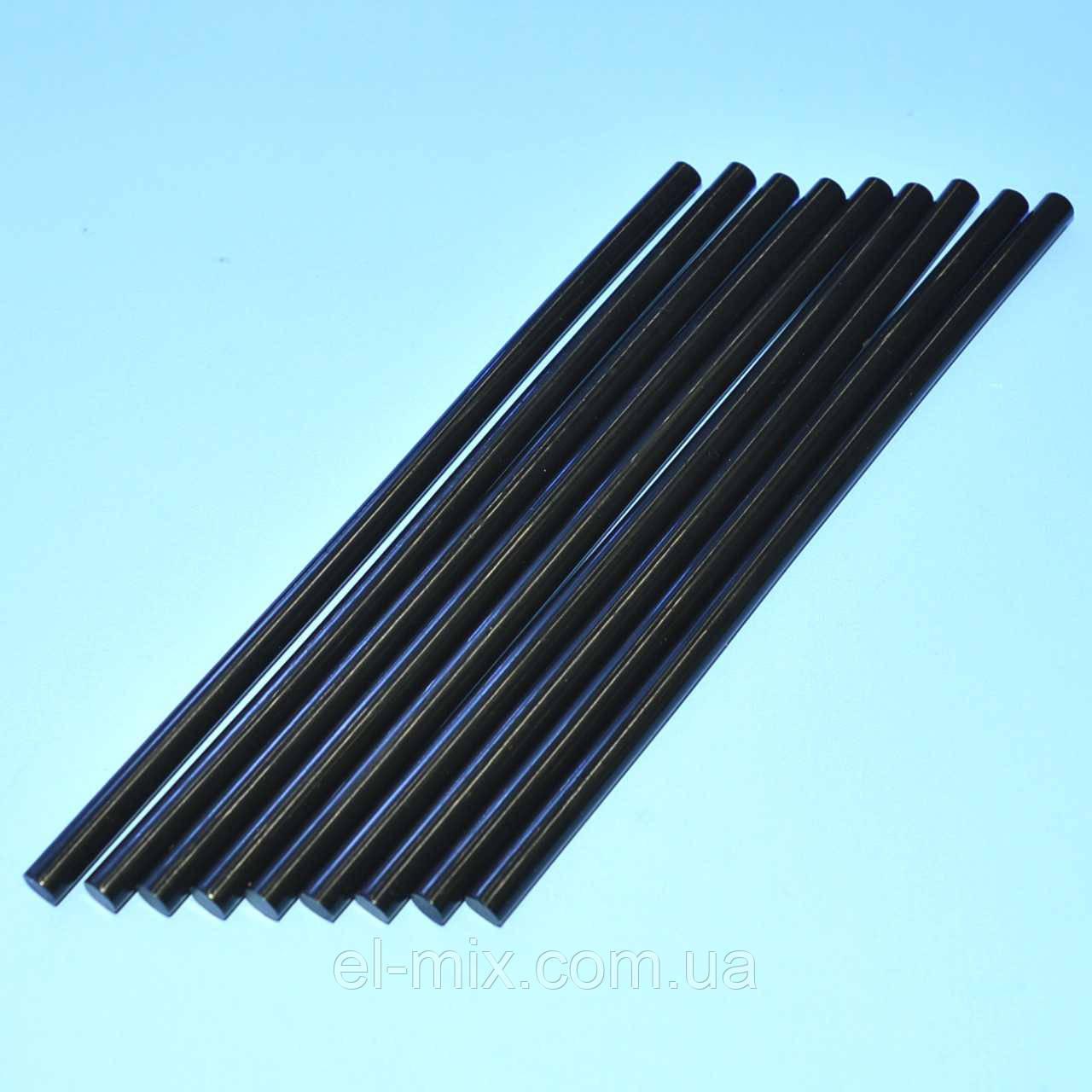 Клей для клеевого пистолета  d7.8mm черный L=200  Тайвань  / кг