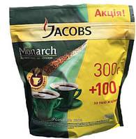 Кофе растворимый Якобс Монарх єконом. пакет 400 г. Jacobs