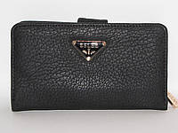 Кошелек-клатч женский ESLEE 8107-BLACK, (кож. зам.), черный