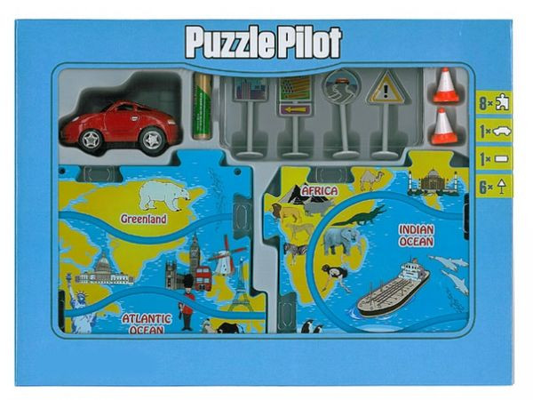 Управляемый пазл Спортивный автомобиль Puzzle Pilot