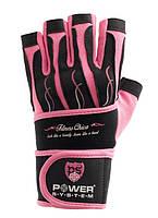 Женские перчатки для фитнеса Power System FITNESS CHICA PS-2710