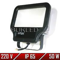 Светодиодный прожектор 50 Вт, 220 В, Luxel