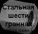 Гайка Tr 12x3 трапецеидальная стальная шестигранная