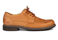 Мужские туфли Caterpillar CAT Brown (Катерпиллер) песочные