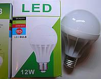 Лампа Led 1L 12 Wt E27 холодный  17 светодиодов