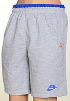"""Молодежные шорты """"Nike"""" светло-серого цвета.Новинка!"""