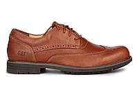 Мужские туфли Caterpillar CAT Brown (Катерпиллер) коричневые