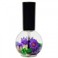 Цветочное масло для кутикулы и ногтей Naomi Лаванда 15 мл