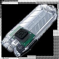 Фонарь Nitecore TUBE - прозрачный, зарядка от USB, гарантия 60мес