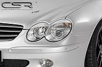 Реснички (накладки на фары) Mercedes SL R230