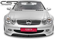 Юбка (спойлер) переднего бампера Mercedes SL R230