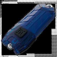 Брелок Nitecore TUBE - синий, зарядка от USB, гарантия 60мес, фото 1
