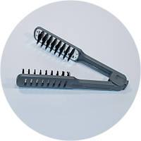 Расческа- щипцы для выравнивания волос феном., фото 1