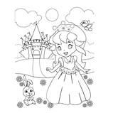 """Роспись по холсту """"Маленькая принцесса"""" ТМ Идейка, фото 2"""