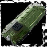 Фонарь Nitecore TUBE - зеленый, зарядка от USB, гарантия 60мес