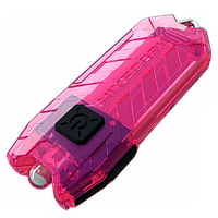 Nitecore TUBE - розовый, зарядка от USB, гарантия 60мес, фото 1