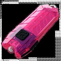 Nitecore TUBE - розовый, зарядка от USB, гарантия 60мес