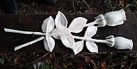 Декор для памятника. Розы из мрамора 35 см
