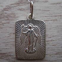 Серебряная подвеска-ладанка Святой архангел Михаил, фото 2