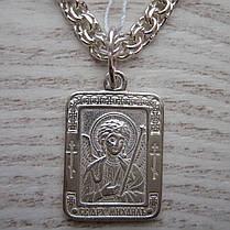 Серебряная подвеска-ладанка Святой архангел Михаил, фото 3