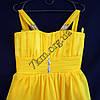 Платье нарядное коктельное детское 6 лет Грация желтое Украина оптом., фото 2