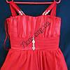 Платье нарядное коктельное детское 6 лет Грация красное Украина оптом., фото 2