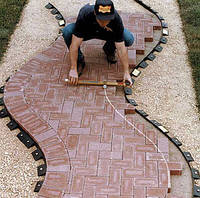 Укладка тротуарной плиты